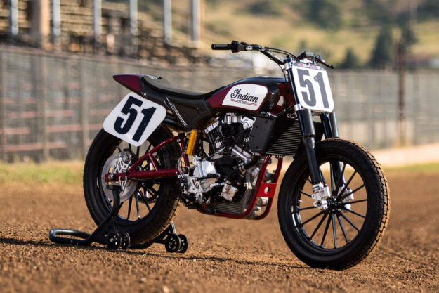 Indian Motorcycles FTR750 Flat Track Racer