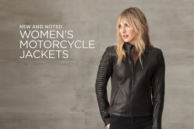 The best new women's motorcycle jackets