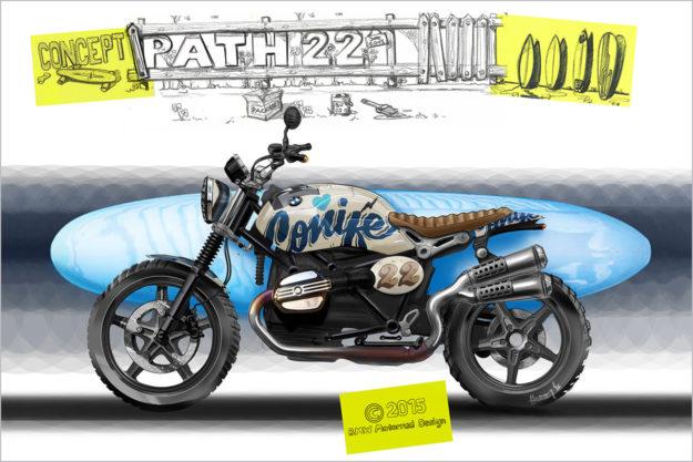 BMW Concept Path 22 design sketch