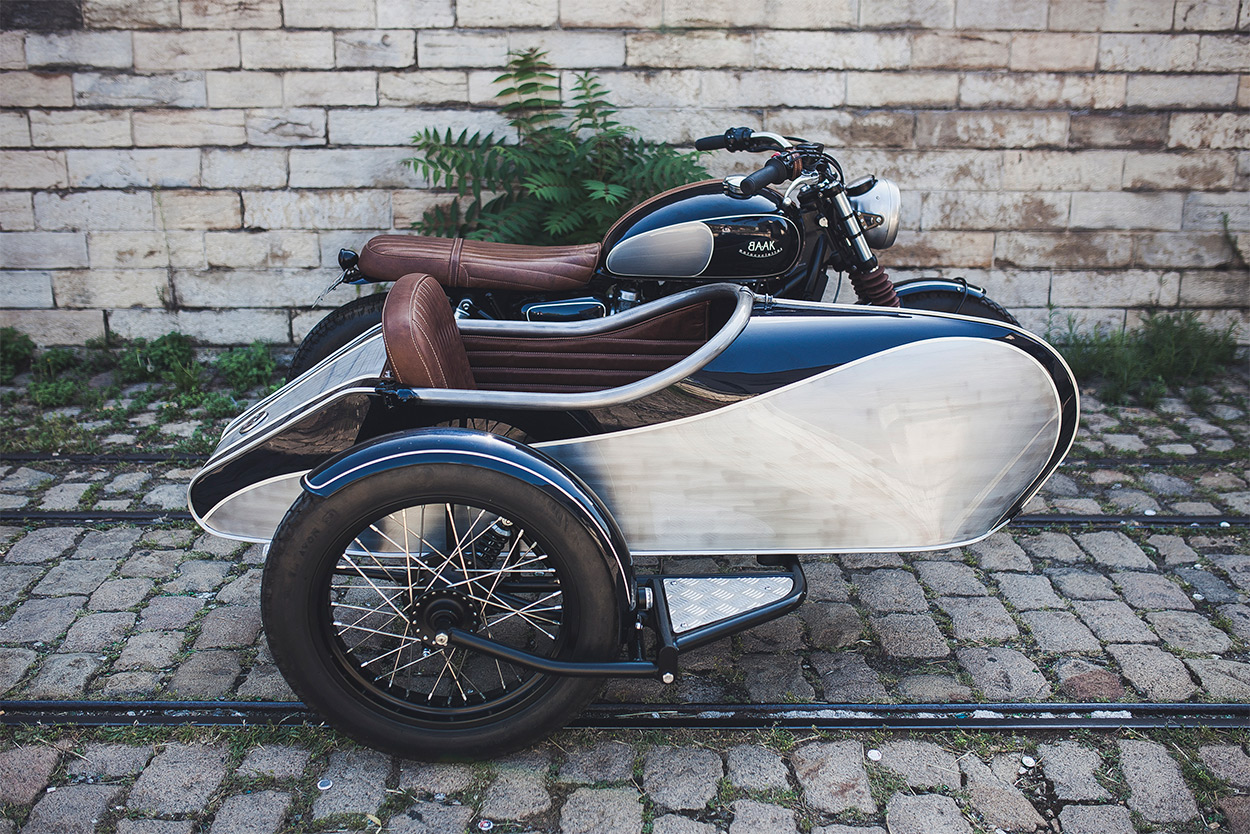 Better to travel than arrive: A Triumph Bonneville sidecar from BAAK Motocyclette