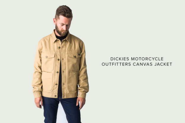Dickies Motorcycle Outfitters Canvas Motorcycle Jacket