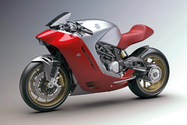 MV Agusta F4Z super bike concept by Zagato.