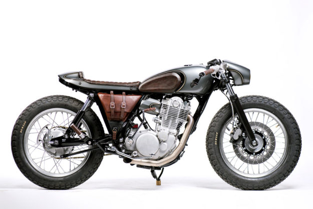 Yamaha SR400 by Old Empire Motorcycles