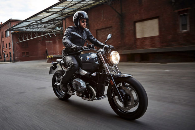 The new 2017 BMW R nineT Pure and Racer