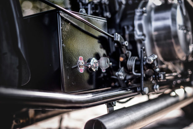 Honda CMX450 bobber by the Wrench Kings.