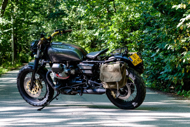 RH Motorcycles' adventure-ready Moto Guzzi California