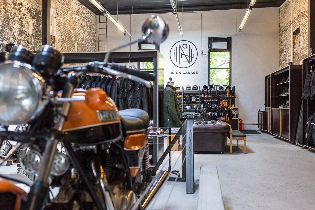 Shop Visit Union Garage New York City Bike Exif