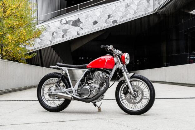 Custom Yamaha SR400 by Bad Winners