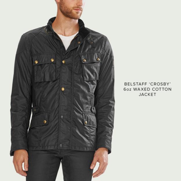 Belstaff Crosby wax cotton jacket