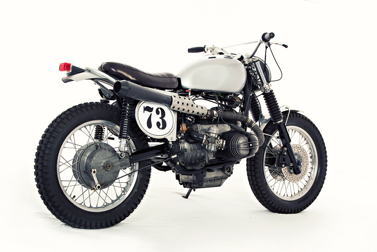 Sacrilege? An English-style trials bike with BMW power