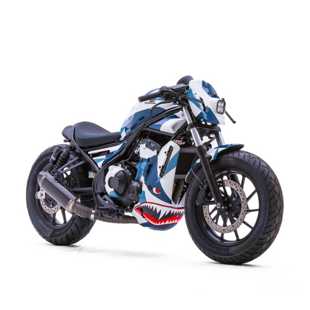Custom 2017 Honda Rebel 500 and Rebel 300