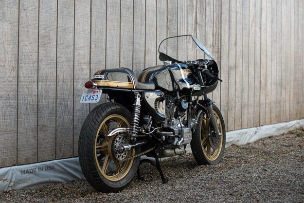 Ducati 900SS restomod by Town Moto