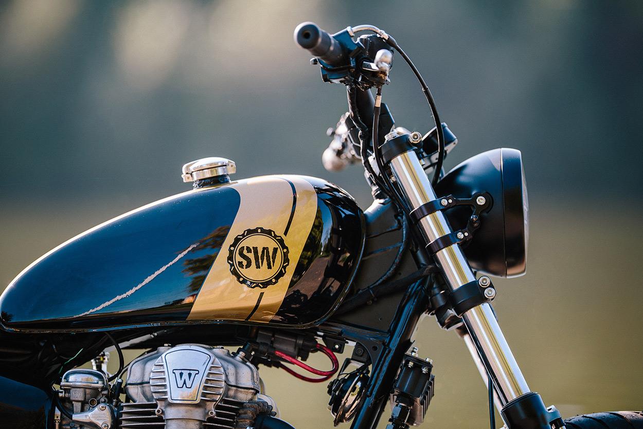 Prime Cut: Schlachtwerk trims the fat from the W650 | Bike EXIF