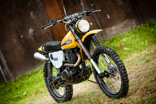 Yamaha XT500 restored by North East Custom