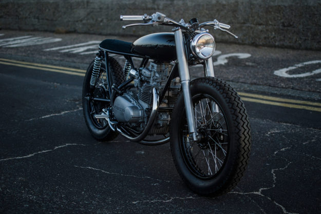 Two-wheeled Extreme Makeover: The Auto Fabrica Kawasaki KZ400