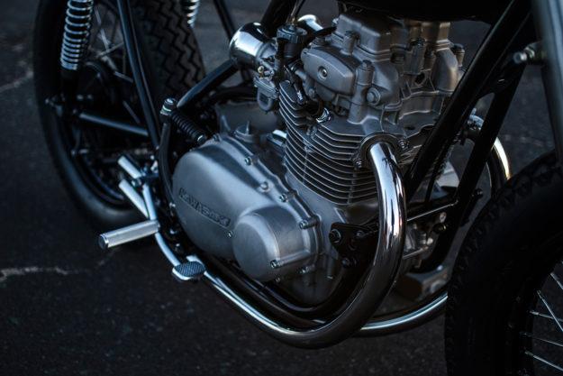 Two-wheeled Extreme Makeover: The Auto Fabrica Kawasaki KZ400
