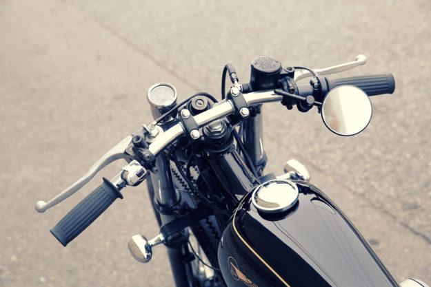 A Lesson in Sano: A custom Kawasaki W650 by Heiwa MC