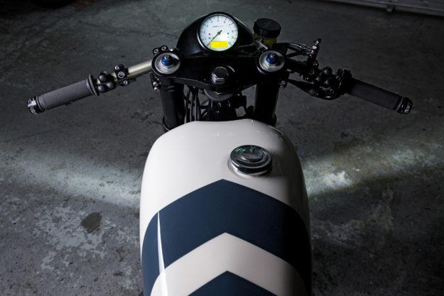 Zero Gravity: A lightweight Triumph Thruxton café racer by Bad Winners