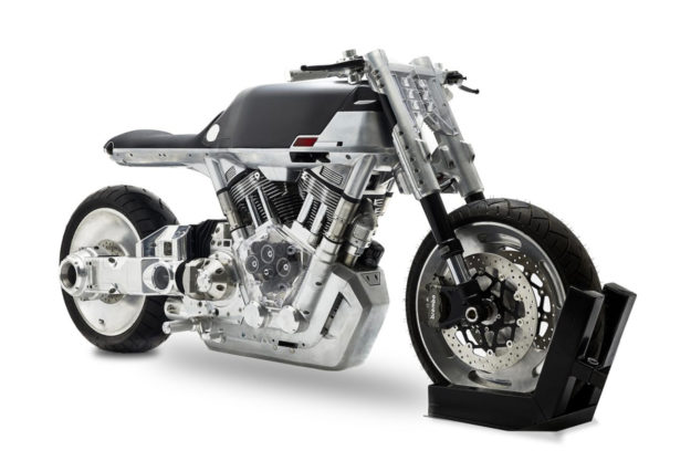 Vanguard Roadster limited production motorcycle