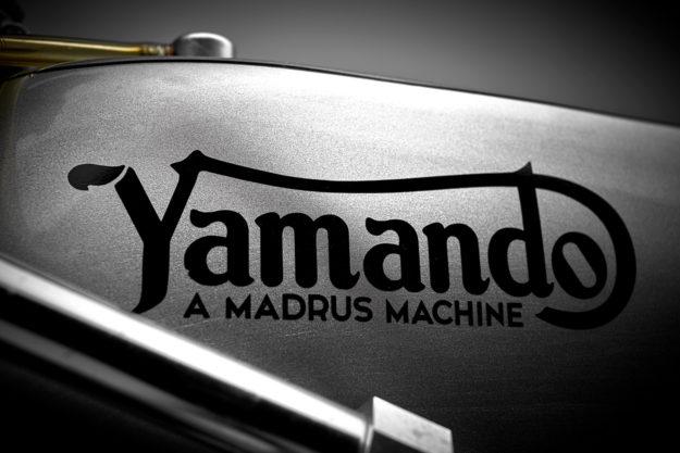 The Yamando: A vintage Yamaha race bike with a Norton frame