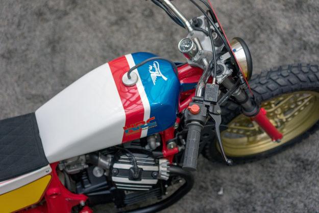 Pure 80s Magic: A Honda CX500 Street Tracker by Kingston Custom