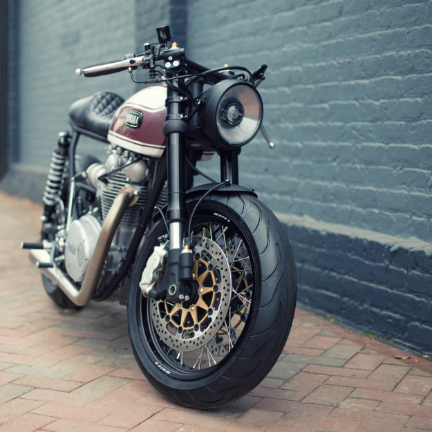 This Yamaha XS650 customized by Cognito Moto is the perfect modern classic