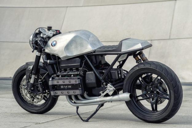 Killer K: Mike Flores' BMW K100 Cafe Racer | Bike EXIF
