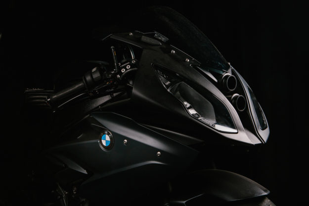 A turbocharged BMW S 1000 RR from Motokouture of Belgium