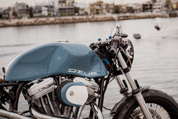 The Bel Air 1200 Framer: A Harley Sportster cafe racer by Deus