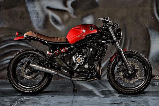 Kawasaki ER6n by Studio Motor