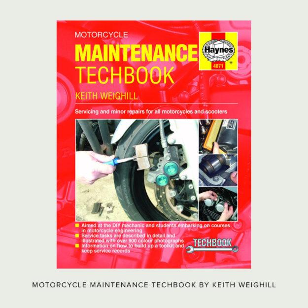 Motorcycle Maintenance Techbook by John Haynes