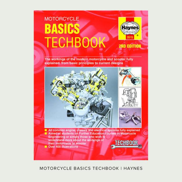 Motorcycle Basics Techbook by John Haynes
