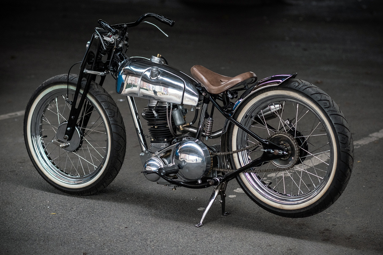 From box of bits to the Brooklyn Invitational: 1951 BSA C11
