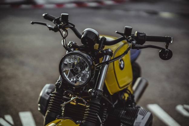 Custom BMW R nineT Scrambler by NCT Motorcycles