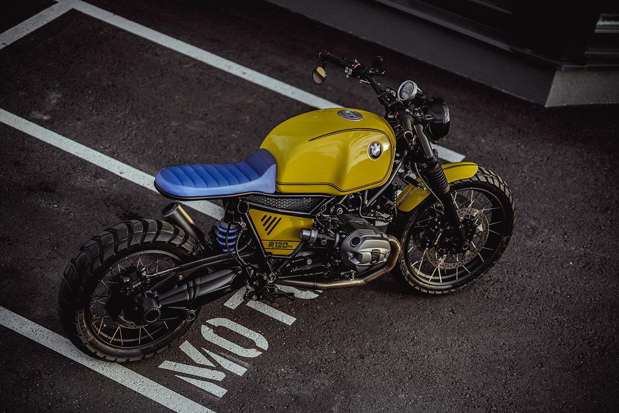 Custom BMW R nineT Scrambler by NCT Motorcycles