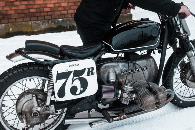 Nico Mueller of Hookie Co.'s personal BMW R75/5