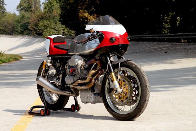 Moto Guzzi 1000SP by Fratelli Brambilla