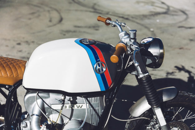 A custom BMW R100 by Untitled Motorcycles—a mix of Californian bravado and German cool.