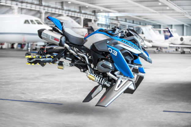Hover Bike concept by BMW and Lego Technic