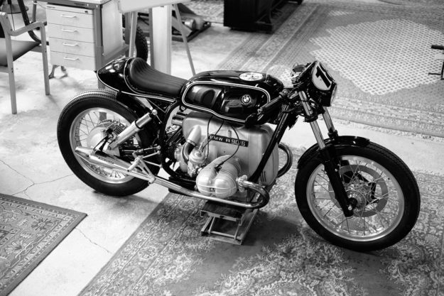 BMW R90/6 cafe racer by Renard Speed Shop