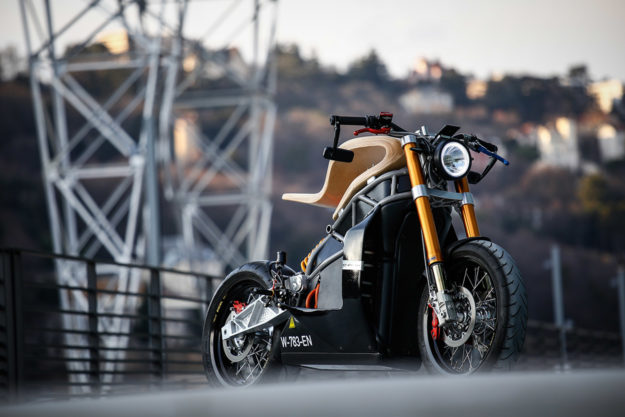 The $60,000 Essence e-raw electric motorcycle