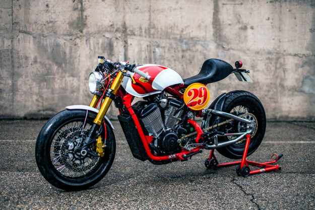 Honda Shadow 400 cafe racer by XTR Pepo