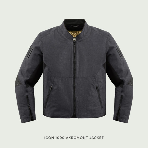 New: The Icon 1000 Akromont motorcycle jacket