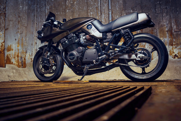 Custom Katana motorcycle by FCR Original