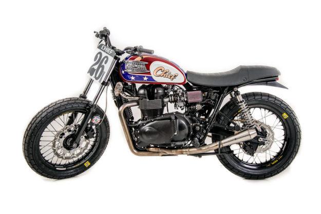 Stolen Triumph Bonneville owned by Heath Cofran