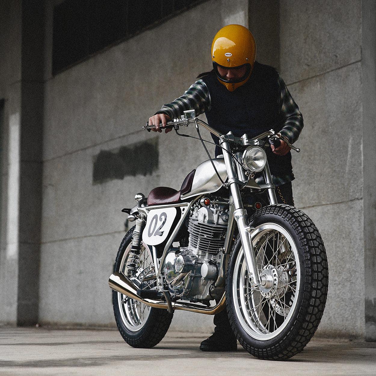 Small but perfectly formed: 2LOUD's Suzuki TU250 | Bike EXIF