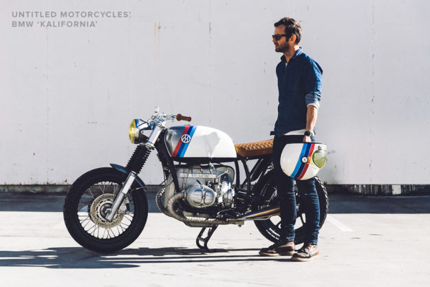 Untitled Motorcycles BMW cafe racer