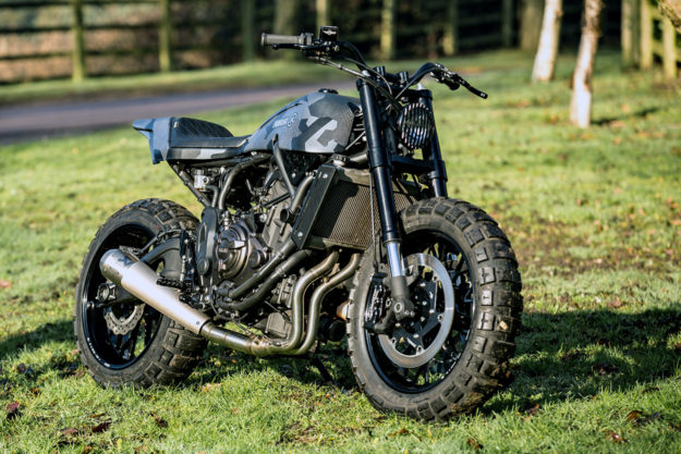 Yamaha XSR700 by Rough Crafts