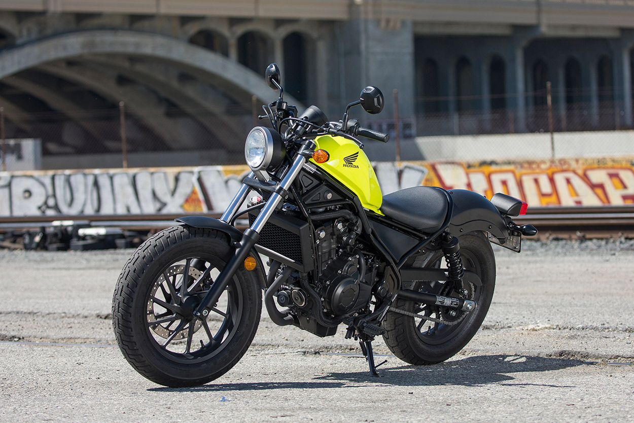 Review Honda Rebel 300 And 500 First Ride Bike Exif