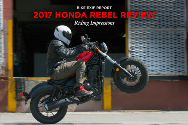 Review: 2017 Honda Rebel 300 and 500 first ride